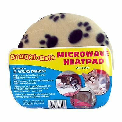 Snugglesafe Microwave Heat Pad Aid Pillow for Pets Dog Car Puppy Kitten Rabbit