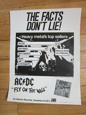 AC DC Facts don't lie poster 8.5x11