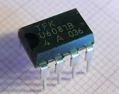 U6081B PWM Power Control with Low Duty-Cycle Switch Off, TFK