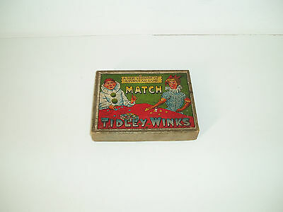Rare Vintage Match Tiddley Winks C1890-1900s Made in Gt Britain.