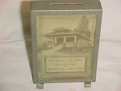 20S Advertising Bank Auburn Saving Loan Washington American Arts Crafts Bungalow