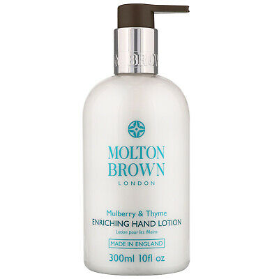 NEW Molton Brown Mulberry & Thyme Enriching Hand Lotion 300ml FREE P&P