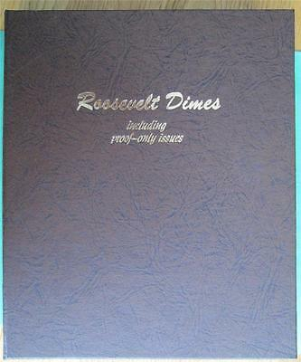 1946 - 2016 COMPLETE ROOSEVELT DIME SET ALL BU Clad and Silver PROOF,in Dansco