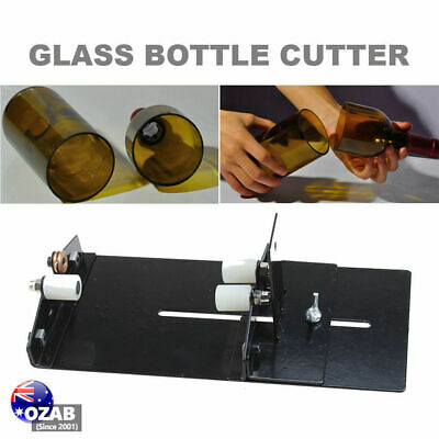 Glass Bottle Cutter Kit Jar Cutting Machine DIY Recycle Tool Set