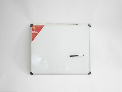 Whiteboard Magnetic With Pen 60cm x 45cm School Office Home
