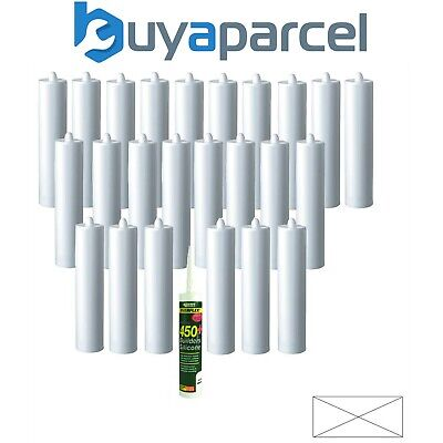Everbuild Everflex 450 Builders Silicone Clear C3 Size Pack of 25