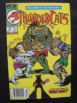 THUNDERCATS Vol 1 # 21. MARVEL STAR COMICS. 1986 SERIES
