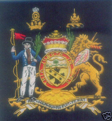 HMS Lord Admiral Royal Navy Horatio Nelson Crest Arms Battle Trafalgar UK Patch