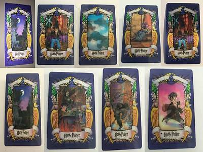 Harry Potter Lenticular 3D Trading Picture Card Chocolate Frog 2001