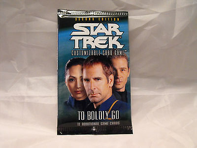 Star Trek Ccg 2E To Boldly Go Sealed Booster Pack Of 11 Cards