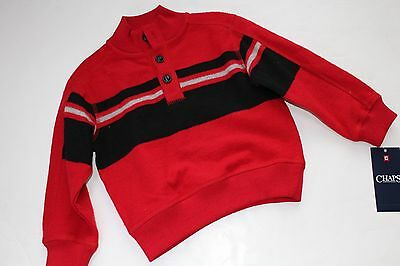 Boys Shirt Top Red Black Chaps by Ralph Lauren Size 2 2T NEW NWT