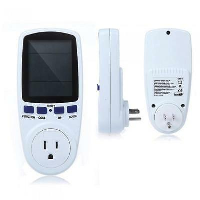 Power Consumption Meter Energy KWH Electricity Calculator Monitor US Plug
