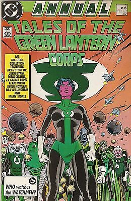 Tales of the Green Lantern Corps '87 Annual 3 FN Q3