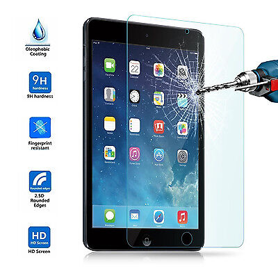 NEW Premium Clear Tempered Glass Screen Protector for Apple iPad Air 1 2 & 5/6