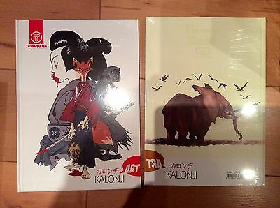 The Art of J P KALONJI : Illustration, Character Design, Graphic Novel etc. 2012