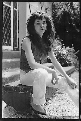 Geddy Lee    Kate Bush         B/W  Double Sided Mini Poster ( MA 10)
