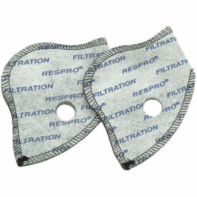 Respro City Anti-Pollution Cycling Face Mask Replacement Spare Filters 2 Pack