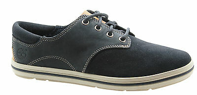 Timberland Earthkeepers EK Casco Bay Oxford Blue Leather Womens Shoes 3958R B68