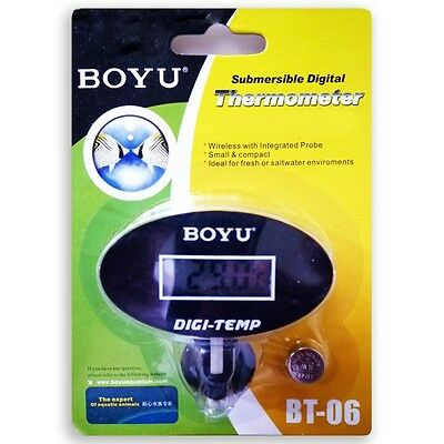 Digital Display Thermometer Aquarium Fish Tank Tropical / Marine BT-06 BOYU