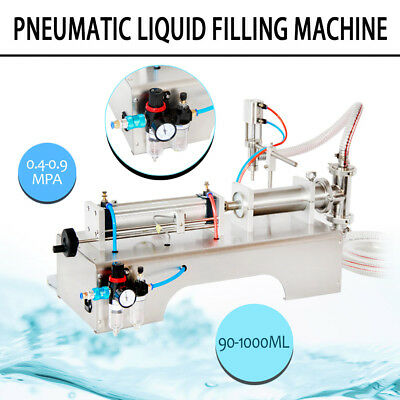 Top 90-1000ML PNEUMATIC  LIQUID FILLING MACHINE FOR SHAMPOO,OIL,WATER PERFUME