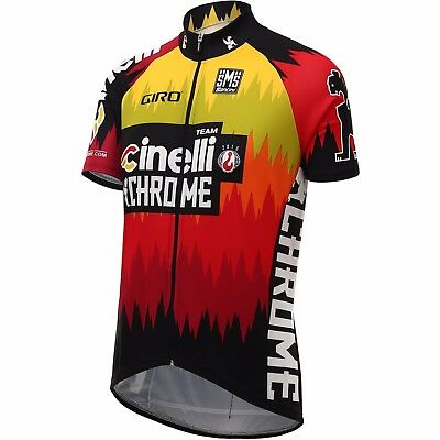 2016 Cinelli Chrome Cycling Jersey Made in Italy by Santini