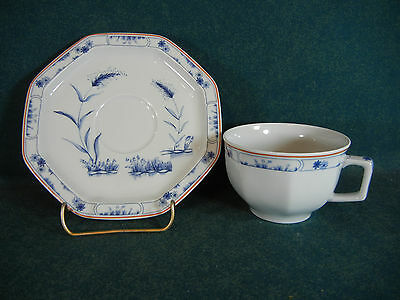 Haviland Jardin Bleu Cup and Saucer Set(s) - Limoges, France