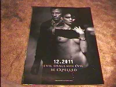 """Girl With Dragon Tattoo """"a"""" Rolled 27X40 Movie Poster Recalled Mara Rooney"""