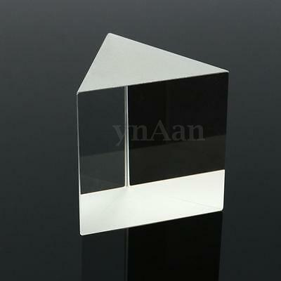 50mm Equilateral Triangular Prism Optical Glass Physics Teaching Light Spectrum