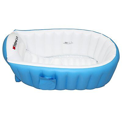 Baby Infant Bathing Tub Security Travel Inflatable Non Slip Bathtub with Pump