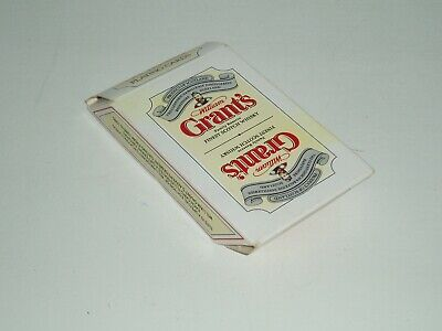 "Vintage Special Edition ""Grants Whisky "" playing cards (Mint Cond) 1990s."
