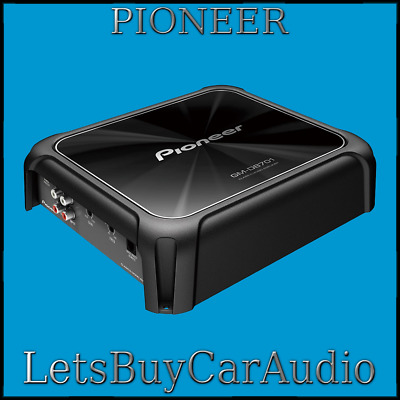 Pioneer Gm-D8601 Mono 1600W Class-D Car Amp With Bass Boost Remote