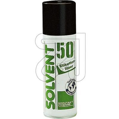 Etikettenlöser-Spray SOLVENT 50, 200 ml