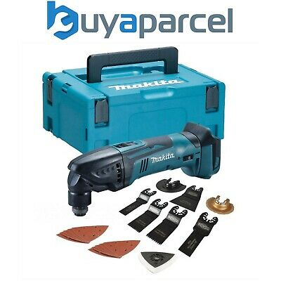 Makita DTM50Z 18v LXT Lithium Ion Cordless Multi Tool + Makpac Case +Accessories