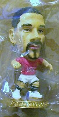 Microstars MANCHESTER UTD (HOME) FERDINAND, GOLD BASE MC11808