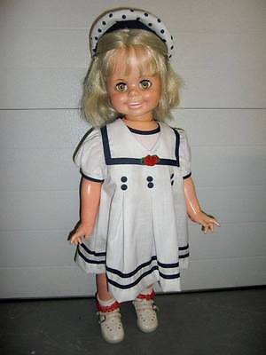 "Ideal ~ Vintage 32"" Beautiful Betty Big Girl Doll 1969"