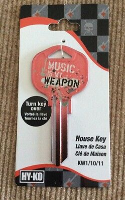 HY-KO House Key MUSIC IS MY WEAPON KW1/10/11