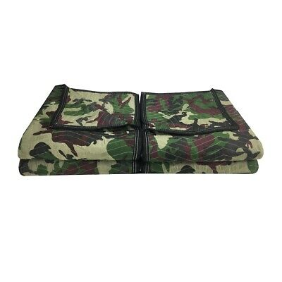 "Camo Moving Blankets (4 Pack) 72"" x 80"" Deluxe Camouflage"