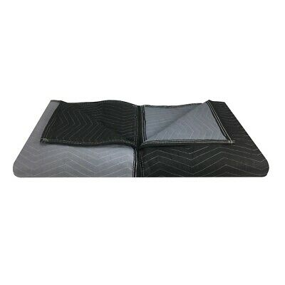 "Moving Blankets - Extra Performance (2 Pack) 72"" x 80"" Black/Grey"
