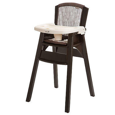 Safety 1st Wooden Decor Highchair NEW!!!