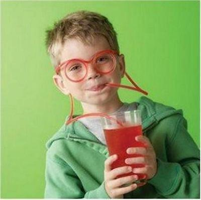 Pop Fun Drinking Unique Flexible Glasses Straw Glasses Drinking Tube Tools S