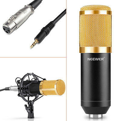Neewer NW-800 Microphone ¨¤ Condensateur Micro Enregistrement Studio Radio Kit