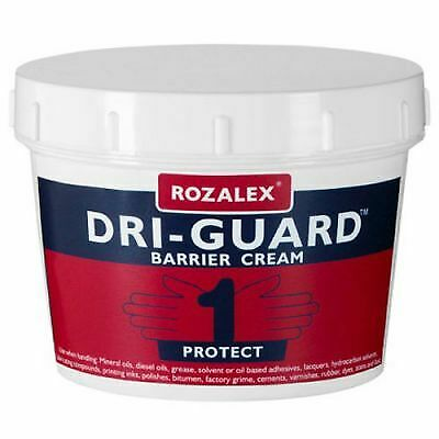 Rozalex Dri-Guard Barrier Cream 450ml Tub Sanitiser/Hand Wash/Cleaning