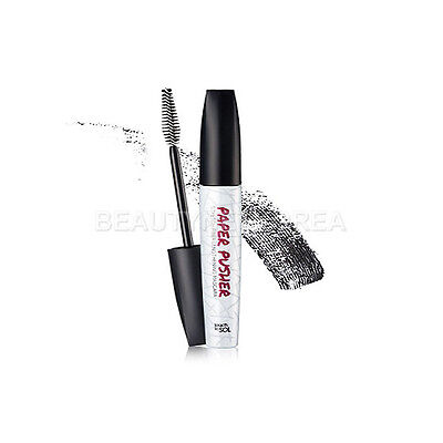[TOUCH IN SOL] Paper Pusher stretch fiber Lengthening Mascara 7g / microfiber
