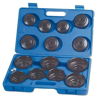 Tool Hub 6538 Oil Filter Cup Wrench Set 15 Piece