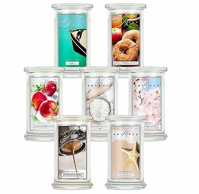 Kringle Candle Classic Large 2 Wick Jar Candles Various Fragrances