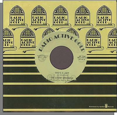 "The Lovin Spoonful - She's a Lady + Money - 7"" 45 RPM Single!"