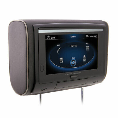 "Power Acoustik HDVD-94T 9"" Universal Touchscreen LCD Headrest Monitor/DVD Player"