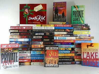 HUGE (79) James Patterson Books~Alex Cross~Violets are Blue  Majority Hardcovers