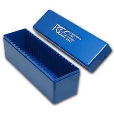 ONE (1) Official PCGS Certified Coin Holder (Slab) Storage Box