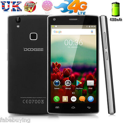 Unlocked 4G 16MP Mobile Smartphone Octa Core Android Dual SIM DOOGEE F5 3G+16GB